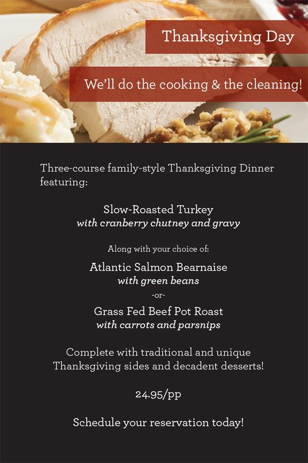 Fargo-Moorhead Restaurants Open on Thanksgiving | Fargo-Moorhead