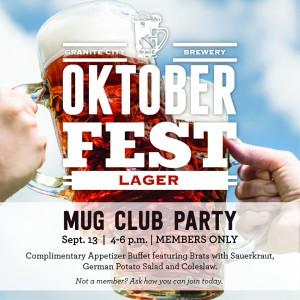 Oktoberfest Mug club Party