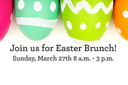 Make Your Easter Brunch Reservation