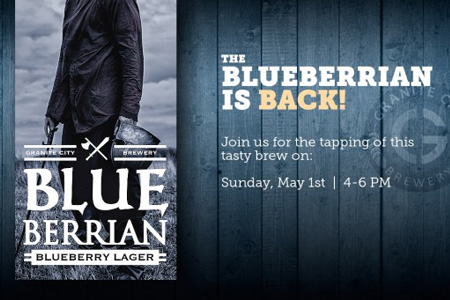 Blueberrian Bluebaerry Lager Tapping Event 05.01.2016