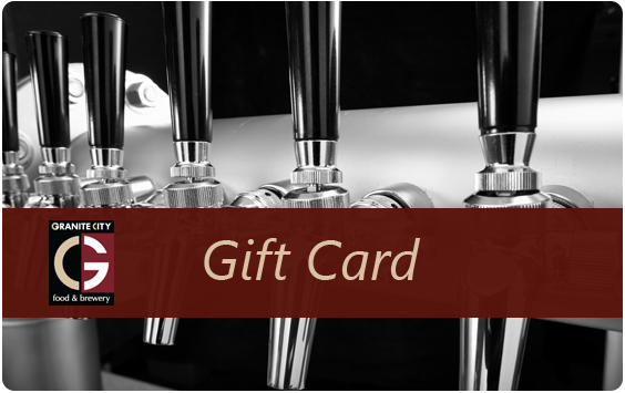 Granite City Brewery electronic gift card