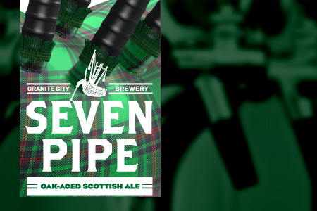 Seven Pipe Oak-Aged Scottish Ale Tapping Event