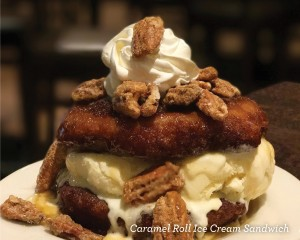 Caramel Ice Cream Sandwich