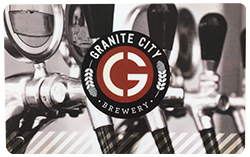 Granite City Brewery Gift Card
