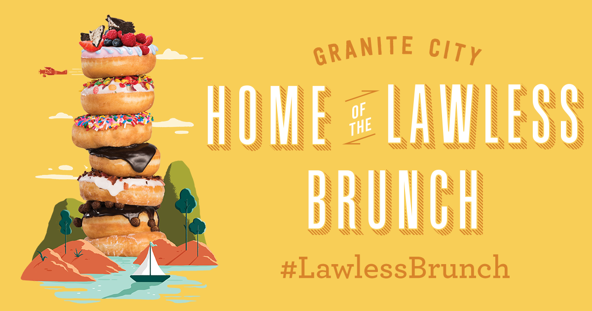 Granite City Coupons >> Lawless Brunch Sunday Brunch Infinite Mimosa Granite City Brewery