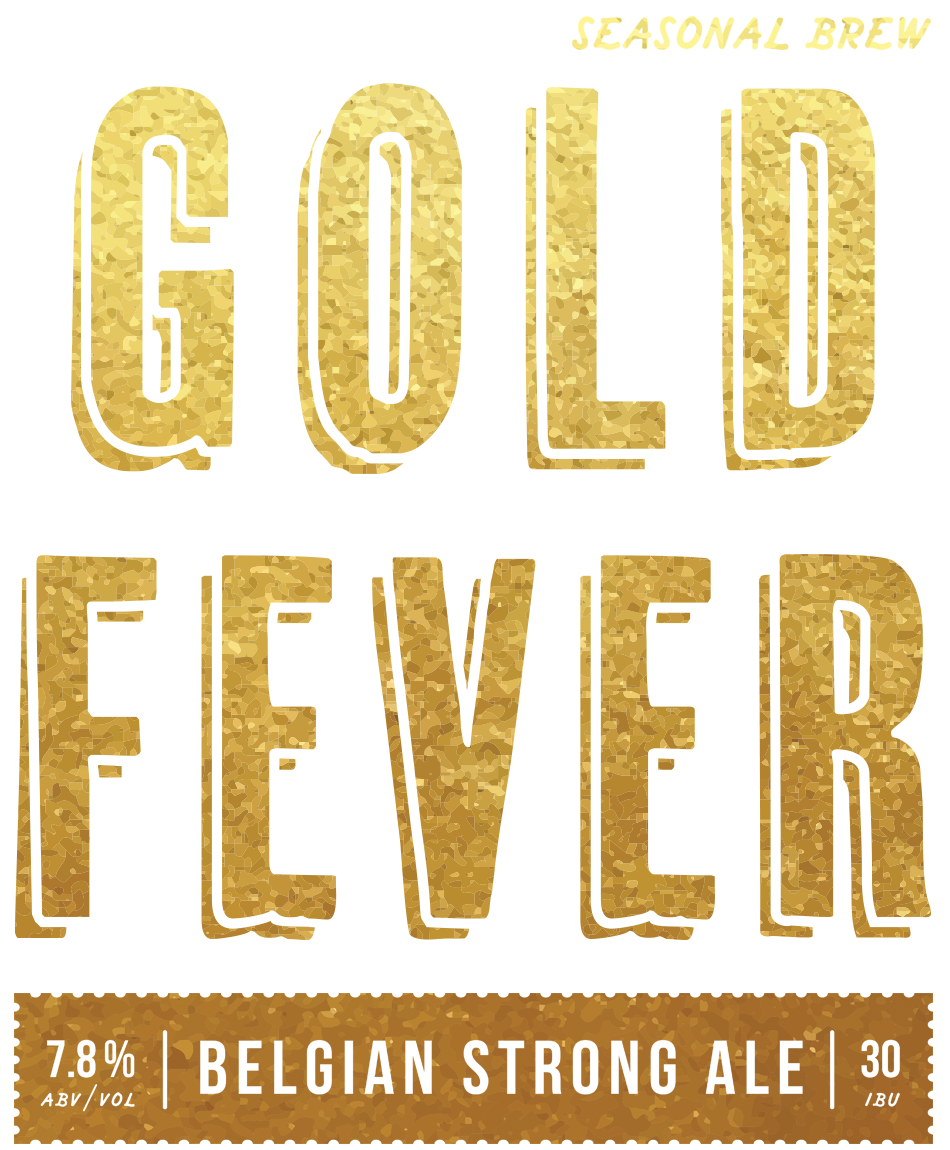 Beer Logo - Gold Fever