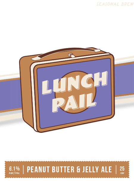 Beer Logo - Lunch Pail