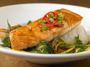 Ponzu Glazed Salmon